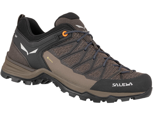 SALEWA MTN Trainer Lite GTX Zapatillas Hombre, wallnut/fluo orange